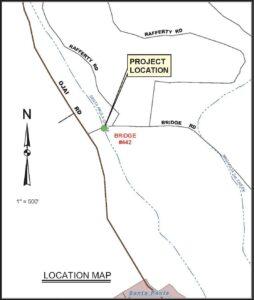 Bridge Road Bridge Map